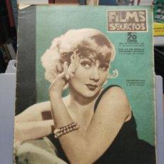 Cine: FILMS SELECTOS. Nº 273. 11/01/1936. Lote 210416311