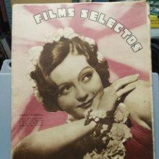 Cine: FILMS SELECTOS. Nº 281. 07/03/1936. Lote 210416358