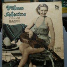 Cine: FILMS SELECTOS. Nº 295. 13/06/1936. JOAN BLONDELL. Lote 210416393