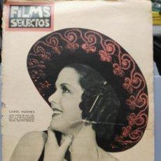 Cine: FILMS SELECTOS. Nº 296. 20/06/1936.. Lote 210416731