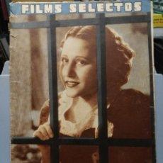 Cine: FILMS SELECTOS. Nº 298. 04/07/1936. Lote 210416773