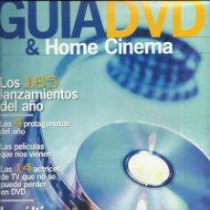 Cinema: GUIA DVD HOME CINEMA. Lote 210428926