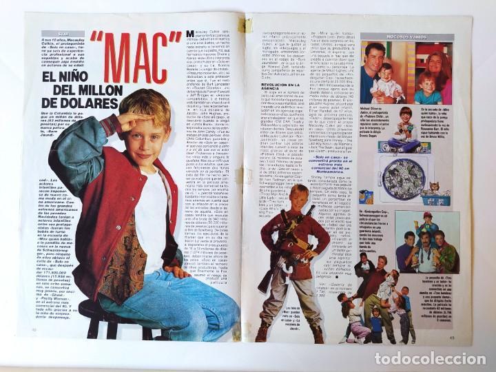 Cine: MACAULAY CULKIN - CURSO 1999/MARK LESTER - CYRANO DE BERGERAC/GERARD DEPARDIEU - RECORTE FOTOGRAMAS - Foto 2 - 210483027