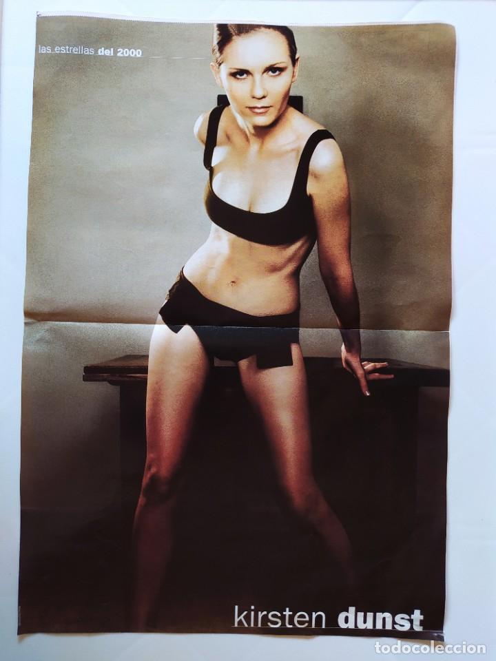 LAS ESTRELLAS DEL 2000 - FICHA Y POSTER DE KIRSTEN DUNST - AGUILA AMSTEL - RECORTE FOTOGRAMAS (Cine - Revistas - Fotogramas)