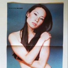 Cine: LAS ESTRELLAS DEL 2000 - FICHA Y POSTER DE LUCY LIU - AGUILA AMSTEL - RECORTE FOTOGRAMAS. Lote 210484442