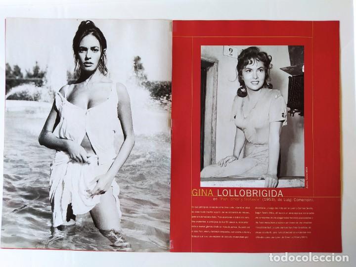 Cine: FOTOREPORTAJE MARIA GRAZIA CUCINOTTA MAGGIORATE GINA LOLLOBRIGIDA/SILVANA MANGANO/SOPHIA LOREN /2000 - Foto 2 - 210485185