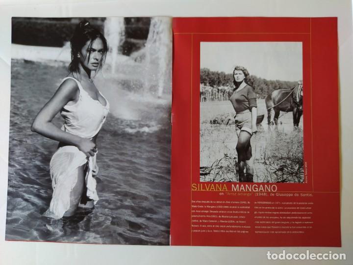 Cine: FOTOREPORTAJE MARIA GRAZIA CUCINOTTA MAGGIORATE GINA LOLLOBRIGIDA/SILVANA MANGANO/SOPHIA LOREN /2000 - Foto 3 - 210485185