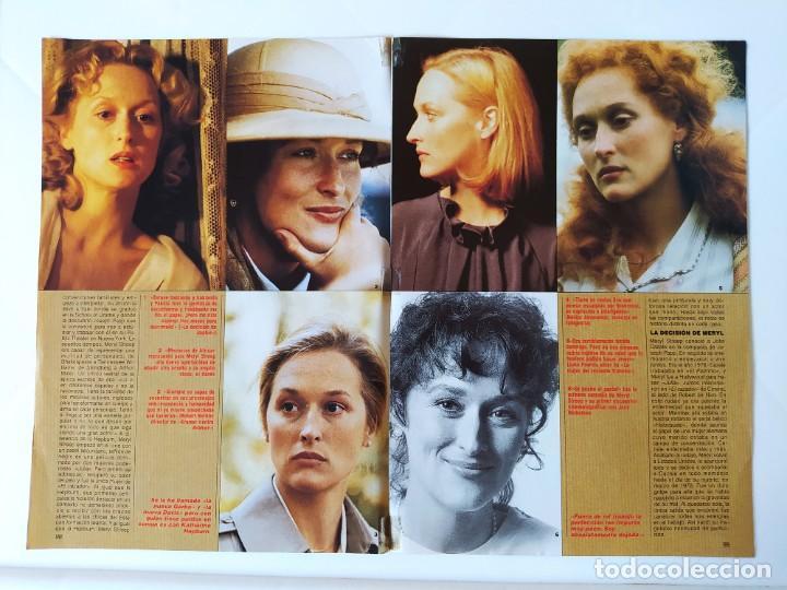 MERYL STREEP - ROBERT DE NIRO - LOS PANZERS DE LA MUERTE-DAVID CARRADINE-OLIVER REED - 1987 (Cine - Revistas - Fotogramas)