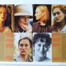Cine: MERYL STREEP - ROBERT DE NIRO - LOS PANZERS DE LA MUERTE-DAVID CARRADINE-OLIVER REED - 1987. Lote 210485590
