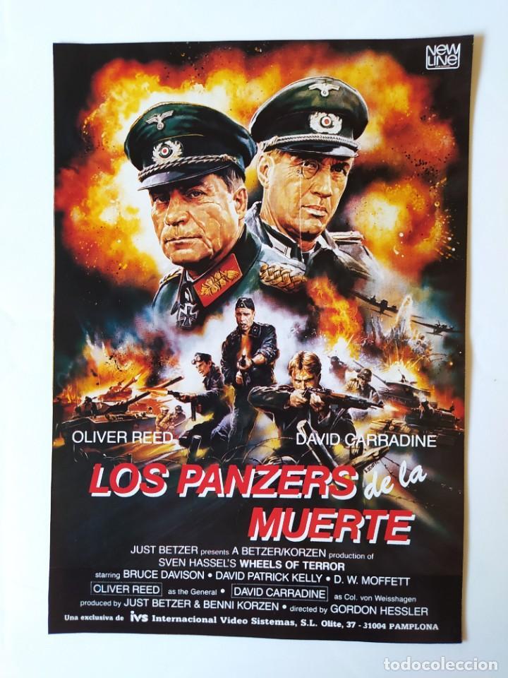 Cine: MERYL STREEP - ROBERT DE NIRO - LOS PANZERS DE LA MUERTE-DAVID CARRADINE-OLIVER REED - 1987 - Foto 4 - 210485590