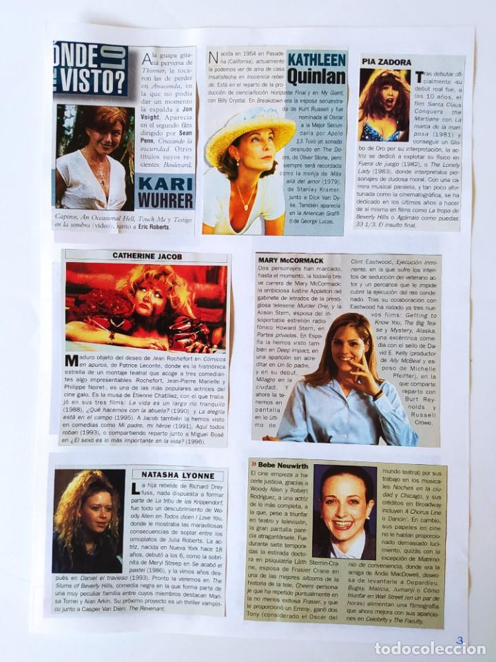 PIA ZADORA+MARY MCCORMACK+KATHLEEN QUINLAN+PATRICIA CLARKSON+ALLISON JENNEY+MAURA TIERNEY (Cine - Revistas - Fotogramas)