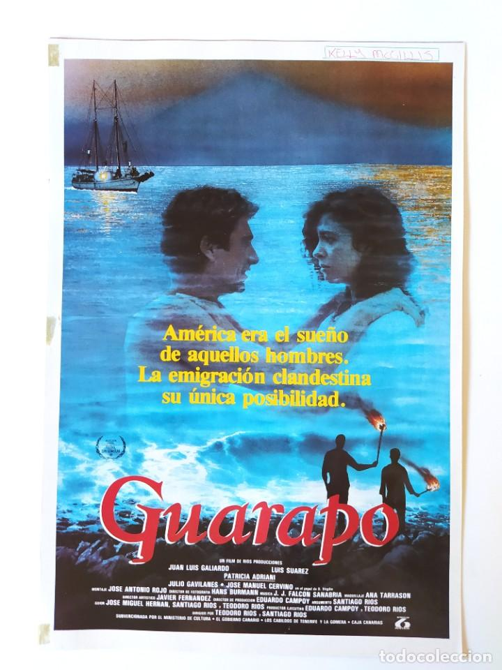 Cine: GUARAPO: JUAN LUIS GALIARDO+PATRICIA ADRIANI+SANTIAGO-TEODORO (HERMANOS) RIOS - KELLY MCGILLIS /1989 - Foto 3 - 210486315