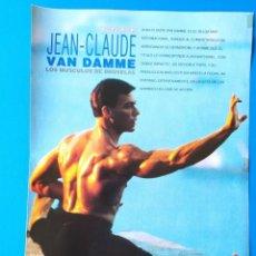 Cine: JEAN-CLAUDE VAN DAMME - RECORTE FOTOGRAMAS - 1991. Lote 210487267