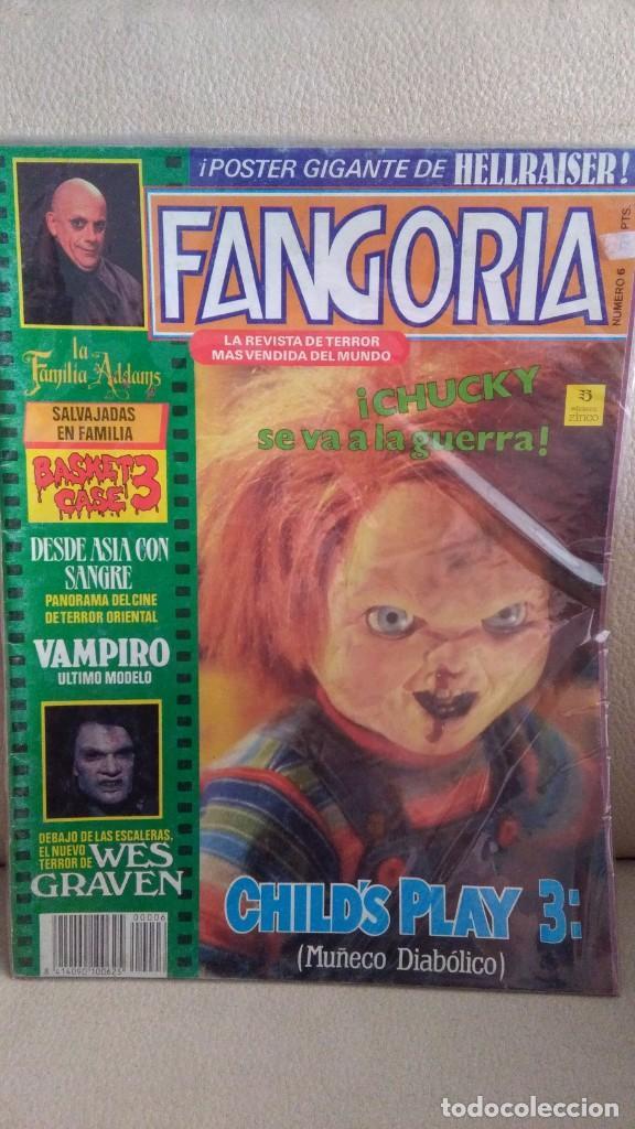 FANGORIA 6 (Cine - Revistas - Fangoria)