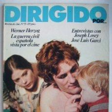 Cine: DIRIGIDO POR. REVISTA Nº 55.. Lote 210536518