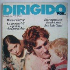 Cine: DIRIGIDO POR. REVISTA Nº 55.. Lote 210536737