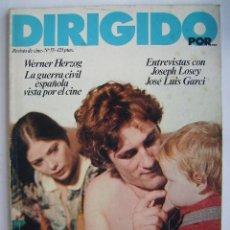 Cine: DIRIGIDO POR. REVISTA Nº 55.. Lote 210536838