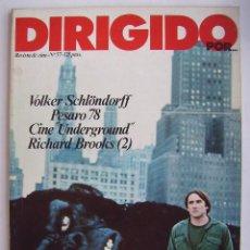 Cine: DIRIGIDO POR. REVISTA Nº 57.. Lote 210537145