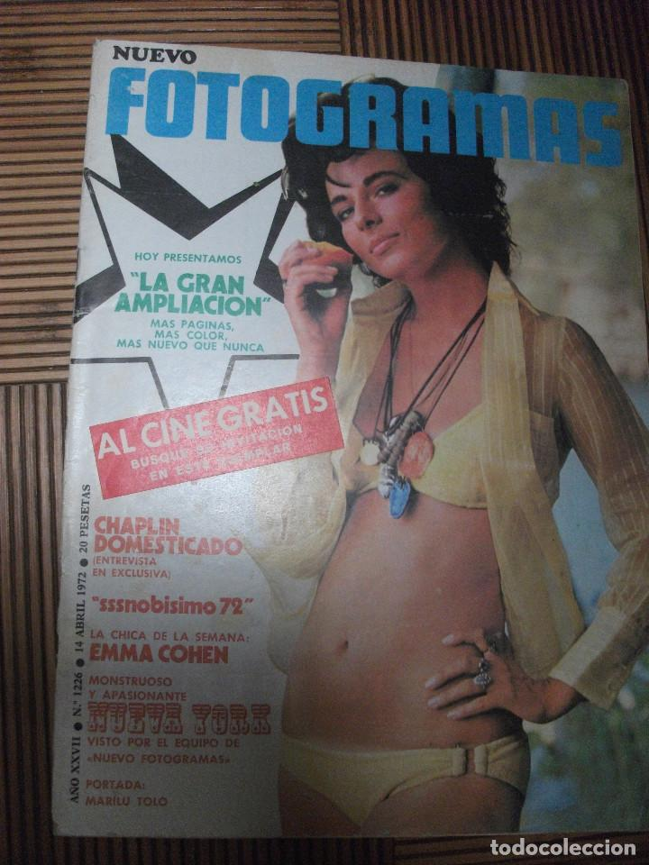 NUEVO FOTOGRAMAS Nº 1226 (Cine - Revistas - Fotogramas)