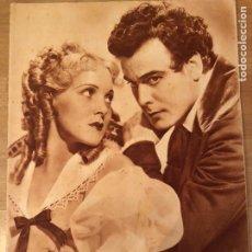 Cinéma: REVISTA POPULAR FILM FEB 1935 PAT PATERSON NILS ASTHER.JOAN CRAWFORD.MARLENE DIETRICH.ABEL GANCE. Lote 210660952