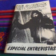 Cine: REVISTA CINE DE TERROR AULLIDOS Nº 1 AÑO 1992 ESPECIAL ENTREVISTAS SAM RAIMI JOHN CARPENTER. BE RARO. Lote 210718084