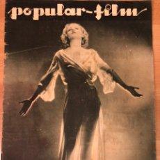 Cinéma: REVISTA POPULAR FILM FEB 1933 LORETTA SAYERS.JOAN CRAWFORD.JOHNNY WEISSMULLER.. Lote 210773751