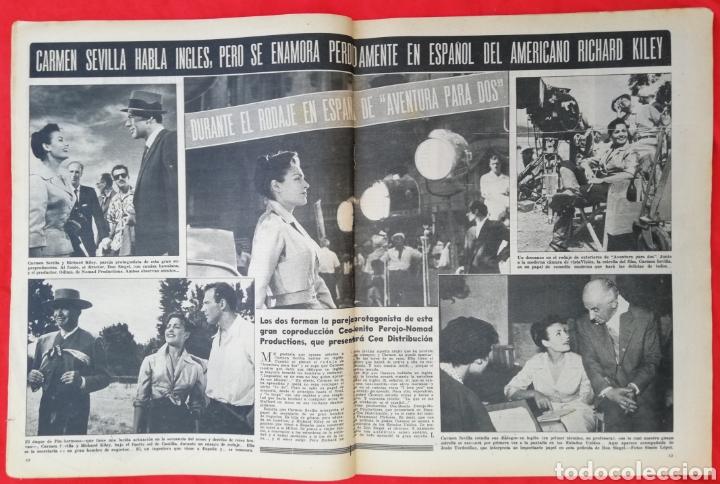 Cine: CINE MUNDO - SEPTIEMBRE 1956 Nº 233 - AMPARO RIVELLES - CARMEN SEVILLA - PJRB - Foto 2 - 210837331