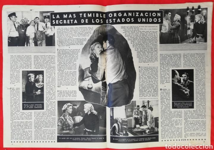 Cine: CINE MUNDO - SEPTIEMBRE 1952 Nº 31 - LUCÍA BOSÉ - RITA HAYWORTH - PJRB - Foto 2 - 210837847