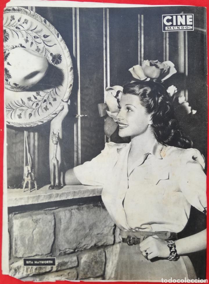 Cine: CINE MUNDO - SEPTIEMBRE 1952 Nº 31 - LUCÍA BOSÉ - RITA HAYWORTH - PJRB - Foto 3 - 210837847