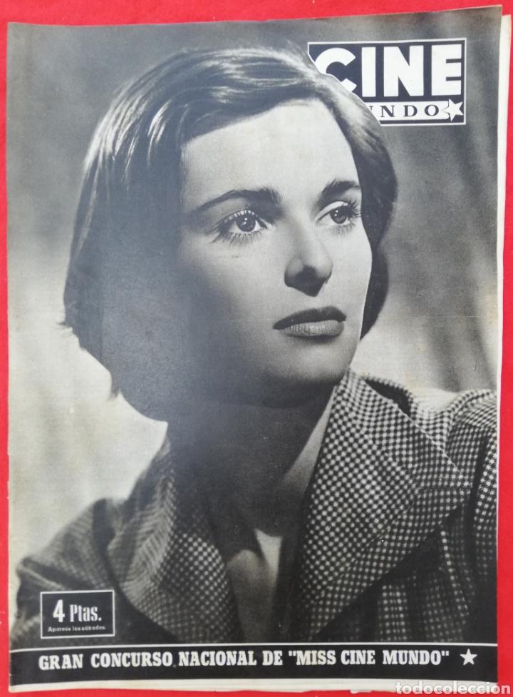 CINE MUNDO - SEPTIEMBRE 1952 Nº 31 - LUCÍA BOSÉ - RITA HAYWORTH - PJRB (Cine - Revistas - Otros)