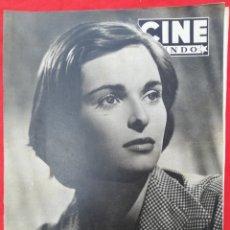 Cine: CINE MUNDO - SEPTIEMBRE 1952 Nº 31 - LUCÍA BOSÉ - RITA HAYWORTH - PJRB. Lote 210837847