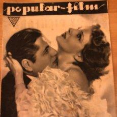 Cine: REVISTA POPULAR FILM AG 1933 ELISA LANDI JEAN HARLOW MARLENE DIETRICH JOSEF VON STERNBERG CHEVALIER. Lote 210838077