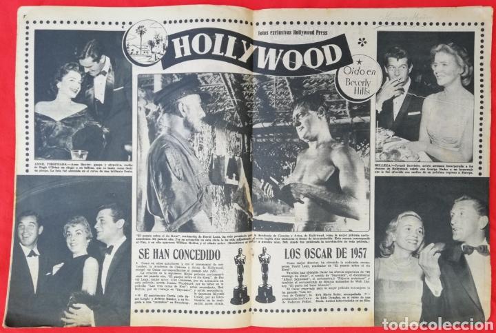 Cine: CINE MUNDO - ABRIL 1958 Nº 316 - SARA MONTIEL - GIA SCALA - PJRB - Foto 2 - 210838082