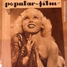 Cinema: REVISTA POPULAR FILM ABR 1934 TOBY WING JOAN CRAWFORD BARRYMORE KAY FRANCIS. Lote 210840877