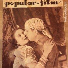Cine: REVISTA POPULAR FILM MAY 1934 ANITA CAMPILLO ENRICO CARUSO MURIEL EVANS JOAN CRAWFORD WALT DISNEY. Lote 210842369