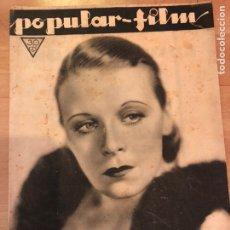 Cine: REVISTA POPULAR FILM JUL 1933 RITA LA ROY.WALT DISNEY MICKEY MOUSE.GARY COOPER.PILAR CALVO. Lote 210842507