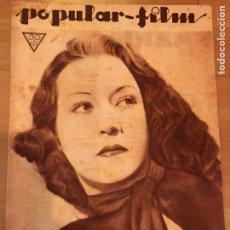 Cine: REVISTA POPULAR FILM MAY 1934 ETHEL MERMAN DIANA WYNYARD.IDA LUPINO.CLAUDETTE COLBERT. Lote 210843216