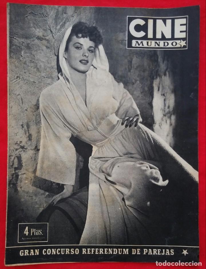 CINE MUNDO - ENERO 1953 Nº 45 - JEAN PETERS - RICHARD WIDMARK - PJRB (Cine - Revistas - Otros)