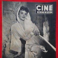 Cine: CINE MUNDO - ENERO 1953 Nº 45 - JEAN PETERS - RICHARD WIDMARK - PJRB. Lote 210940910