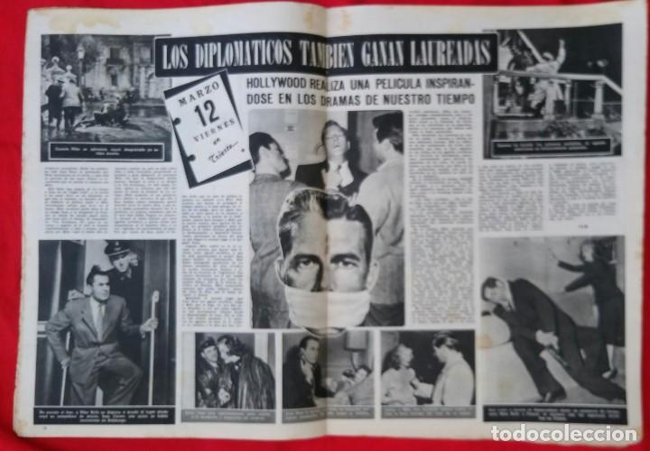Cine: CINE MUNDO - AGOSTO 1952 Nº 45 - SILVANA PAMPA - CORNEL WILDE - PJRB - Foto 3 - 210941949