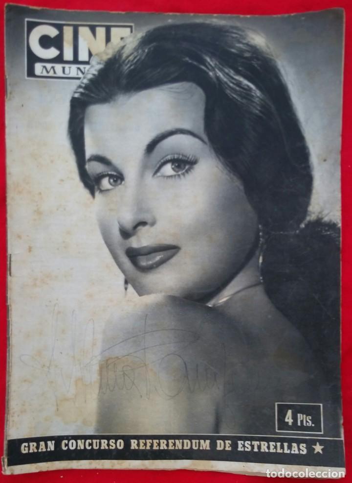 CINE MUNDO - AGOSTO 1952 Nº 45 - SILVANA PAMPA - CORNEL WILDE - PJRB (Cine - Revistas - Otros)