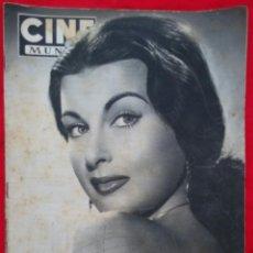 Cine: CINE MUNDO - AGOSTO 1952 Nº 45 - SILVANA PAMPA - CORNEL WILDE - PJRB. Lote 210941949