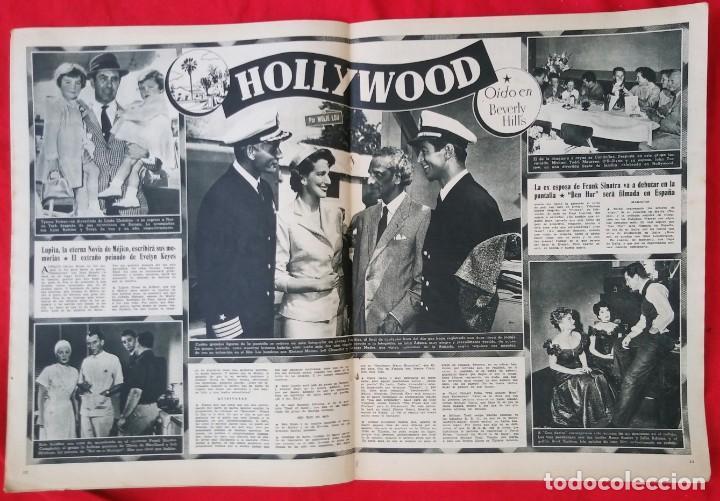 Cine: CINE MUNDO - JULIO 1955 - MARA LUZ GALICIA - CRISTINA SONDERBAUM - PJRB - Foto 3 - 210943650