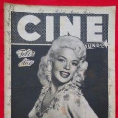 Cine: CINE MUNDO - DICIEMBRE 1956 - JAYNE MANSFIELD - IRASEMA DILIAN - PJRB. Lote 210944284