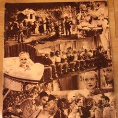 Cine: REVISTA POPULAR FILM AGO 1934 CONCHITA MONTENEGRO.MARLENE DIETRICH.LORETTA YOUNG.ROSITA MORENO.. Lote 210944505