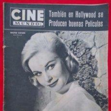 Cine: CINE MUNDO - JULIO 1957 Nº 277 - INGRID GOUDE - EVA MARIE SAINT - PJRB. Lote 210944865