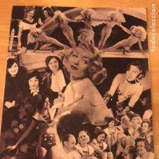 Cine: REVISTA POPULAR FILM JUL 1934.CONSTANCE BENNET.CLAUDETTE COLBERT CLEOPATRA.LUPE VÉLEZ.CHAPLIN. Lote 210945907