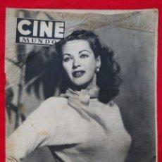 Cine: CINE MUNDO - ENERO 1953 Nº 91 - IVONNE DE CARLO - SUZAN BALL - PJRB. Lote 210948376