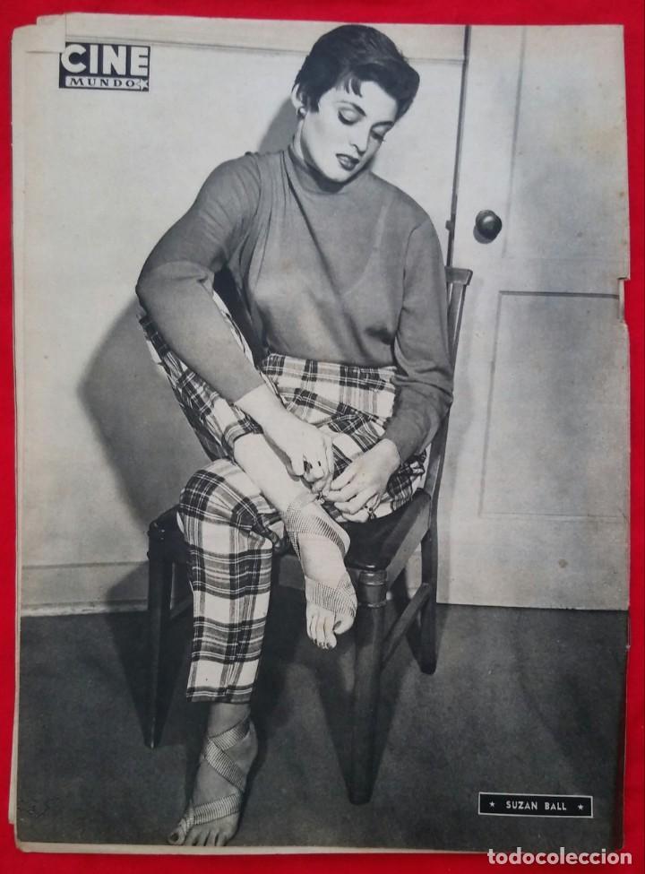Cine: CINE MUNDO - ENERO 1953 Nº 91 - IVONNE DE CARLO - SUZAN BALL - PJRB - Foto 4 - 210948376
