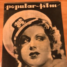 Cine: REVISTA POPULAR FILM NOV 1933 GRACE BRADLEY.DON QUIJOTE PABST.MAUREEN O,SULLIVAN.LUANA ALCAÑIZ. Lote 211433036